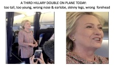 A 3rd Hillary double on plane today
