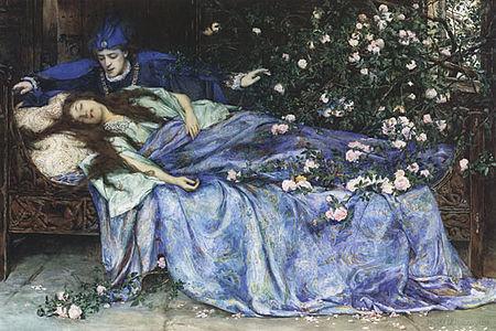 450px-Henry_Meynell_Rheam_-_Sleeping_Beauty