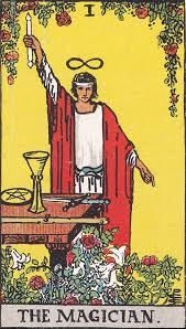 The Magician (Tarot card) - Wikipedia