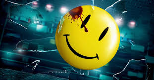 Watchmen's Smiley Badge Logo Explained: What The Blood Tear Means