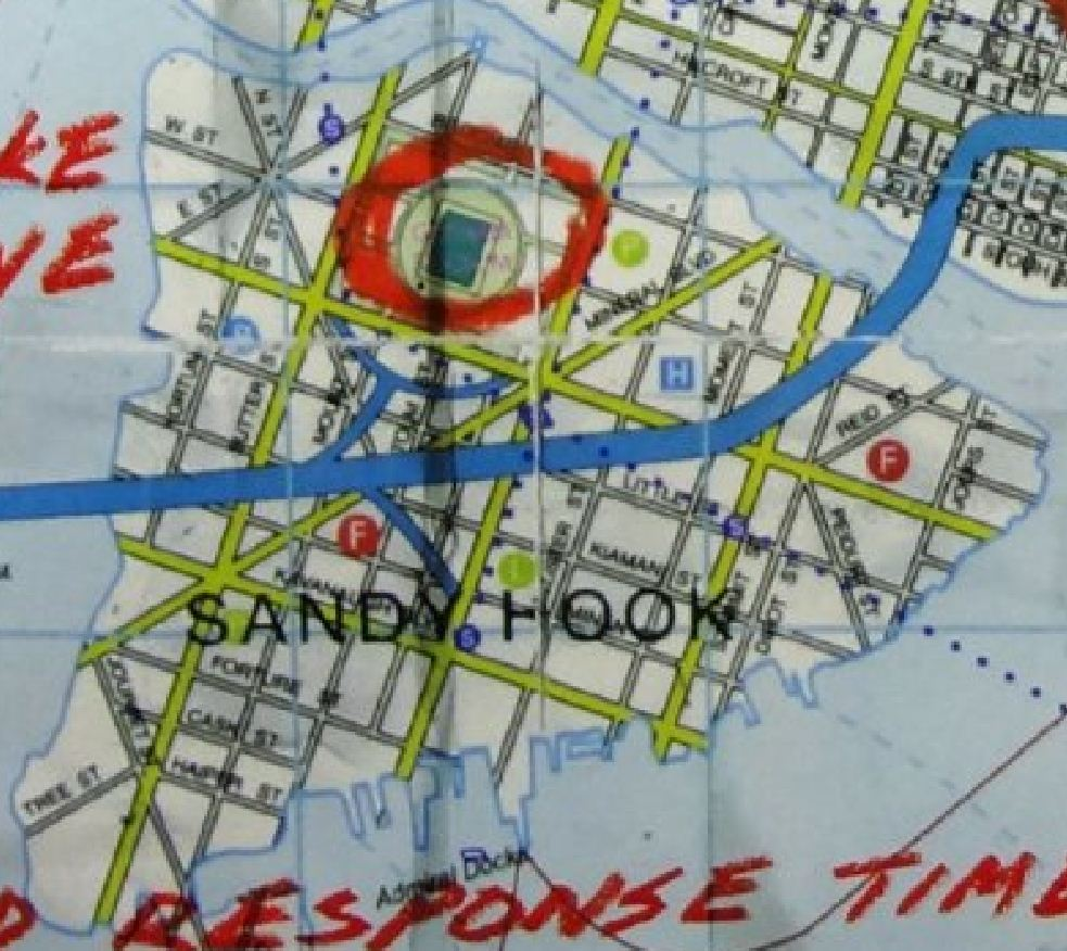 Image result for sandy hooke dark knight map